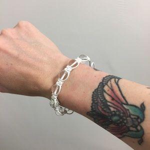 Jewelry - White Crystal Bracelet